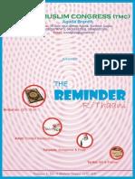 TMC Aguda_The Reminder (R-Thaani 1435)
