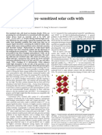 All-Solid-state Dye-sensitized Solar Cells With Highe Efficiency