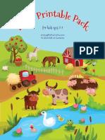 Farm Printable Pack