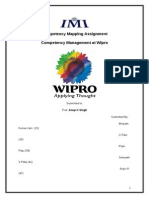Final Competency Mapping @Wipro