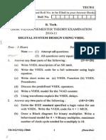 Digital System Design Using VHDL paper