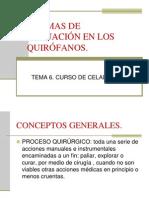 Tema 6 Quirofanos