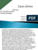 Casi clínico amenorrea