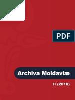 Archiva Moldaviae II-2010 Promo