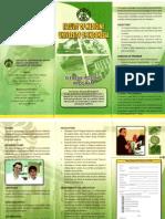 elective,departments,leaflet
