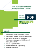 Broadband Forum MPLST-TP Tutorial