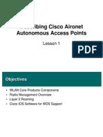Mod1, Les1 Describing Cisco Aironet Autonomous Access Points - By HERMAN HS 300313 - FINAL