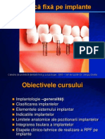 Protetica Fixa Pe Implante