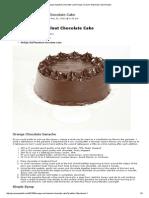 Orange-Hazelnut Chocolate Cake Recipe_ Grace's Sweet Life Cake Recipes