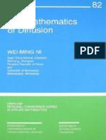 The Mathematics of Diffusion(Ni)
