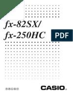 Casio FX82SX It