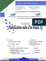 Planification Radio d'Un Reseau 3G