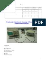 Introdución manexo osciloscopio
