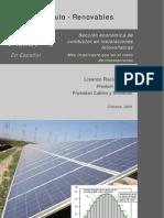 Optimización de la sección de cable en Instalaciones Fotovoltaicas
