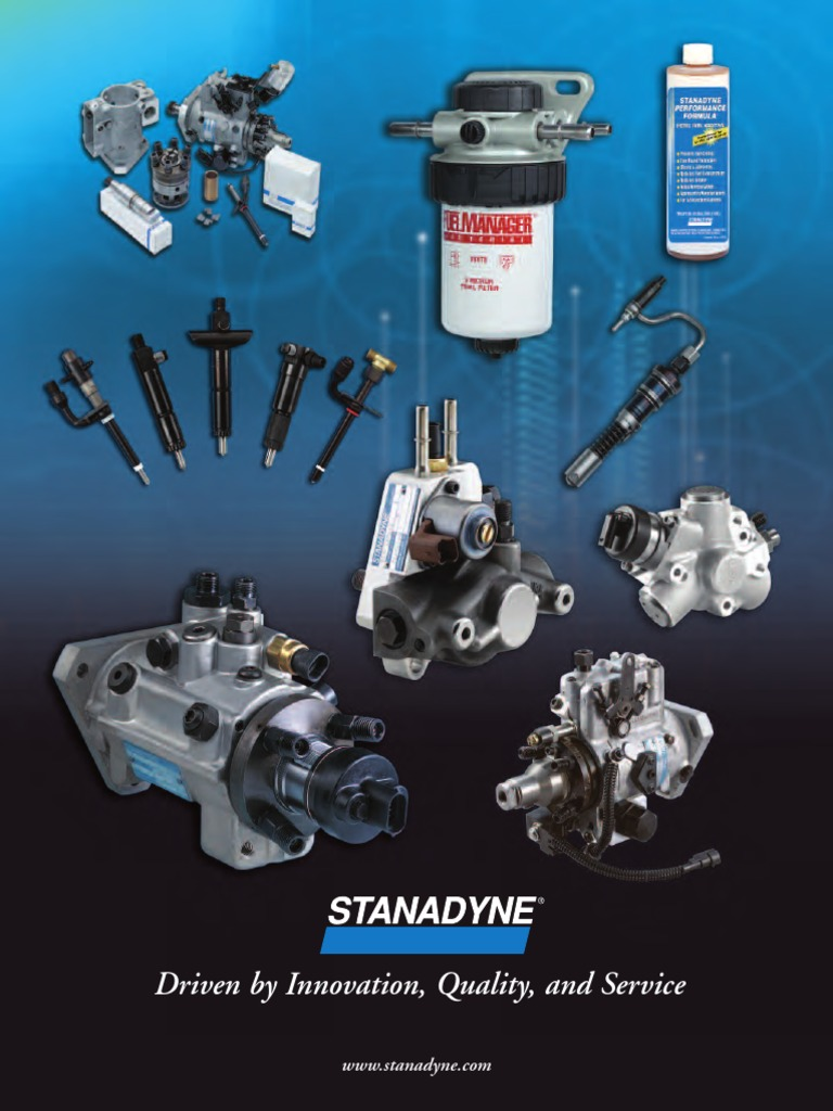 Product Brochure | Fuel Injection | Diesel Engine