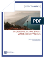 PW88 Understanding Pakistan's Water Security Nexus