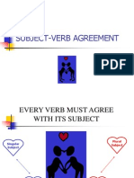 Subject Verb Agreement 1