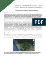 Geofisica Ipotesi di correlazione tra la sismicità locale ed i livelli di radioattività di fondo nella stazione sismica OSA di Camaiore LU durante Ottobre 2013
