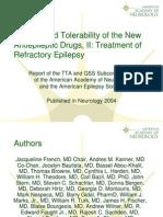 obat-obatan terbaru antiepilepsi AAN.ppt