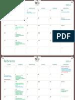 Calendario Amm 2014 1 Semestre