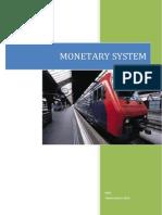 Catatan Monetary System