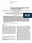 2009 Regeneration Potential of Seedling Explants of Chilli