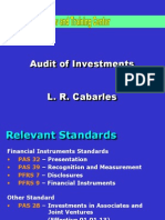 4) Audit of Investments