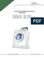 Electrolux Ewm3000 Privileg Dynamic 7420 7440 7460 7480
