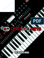 Analog-keys Manual OS1.1