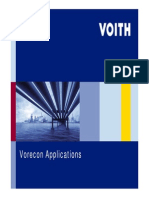 Vorecon applications and hydraulic coupling
