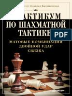 Практикум по шахматной тактике, матовые комбинации, двойной удар, связка