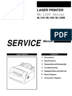 Samsung ML-1210 Service Manual