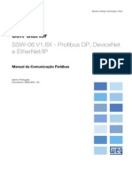 WEG Ssw 06 Manual de Comunicacao Fieldbus 0899.5843 1.6x Manual Portugues Br
