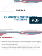 DC Circuits and Network Theorems