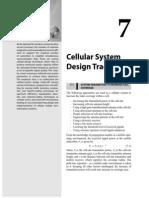 Cellular System Design Trade Offs