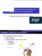 Presentacion Tema 3 Interaccion de La Radiacion Con Los Objetos