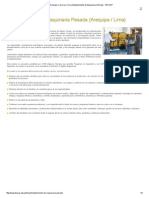 Lima, Arequipa, Carrera y Curso Mantenimiento de Maquinaria Pesada - TECSUP