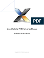 Arm Crossworks Reference Manual