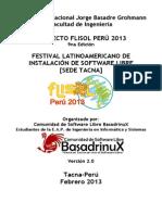 _proyecto Flisol Tacna 2013 v2 - Basadrinux