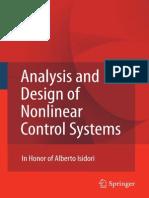 Analysis and Design of Nonlinea - A. Astolfi