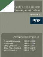 Penataan Letak Fasilitas Dan Penanganan Bahan (1)