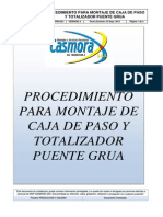 Mspc-sgi-pro-051 Procedimiento Electrico Para Totalizador y Cajas de Paso Rev.0