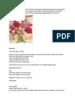 Crochet Bouquet Pattern