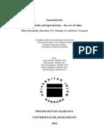 Tugas Mata Kuliah Hukum Reproduksi (Journal Review)