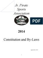 Jr. Pirates Sports Association bylaws