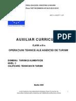 Operatiuni Tehnice Ale Agentiei de Turism