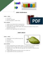 10 Cara pembuatan Sirup disertai gambar