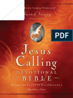Jesus Calling Devotional Bible, NKJV