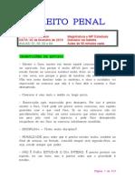 Caderno - DIREITO PENAL - Cleber Masson
