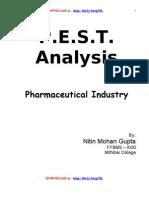 Pest Analysis of Pharma Industry